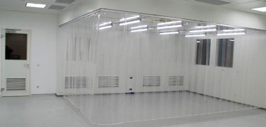 Pvc Vorhang Fotos : Reinraum vorhänge aus pvc für die reinraumtechnik planex