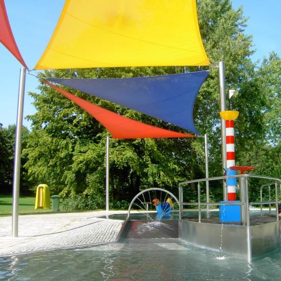 Sonnensegel Freibad Planex Technik in Textil GmbH