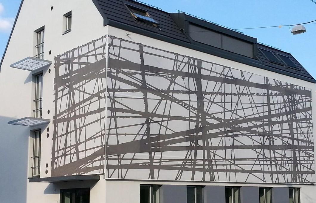 Fassadenbespannung