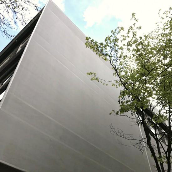 Fassadenverkleidung von Planex Technik in Textil GmbH