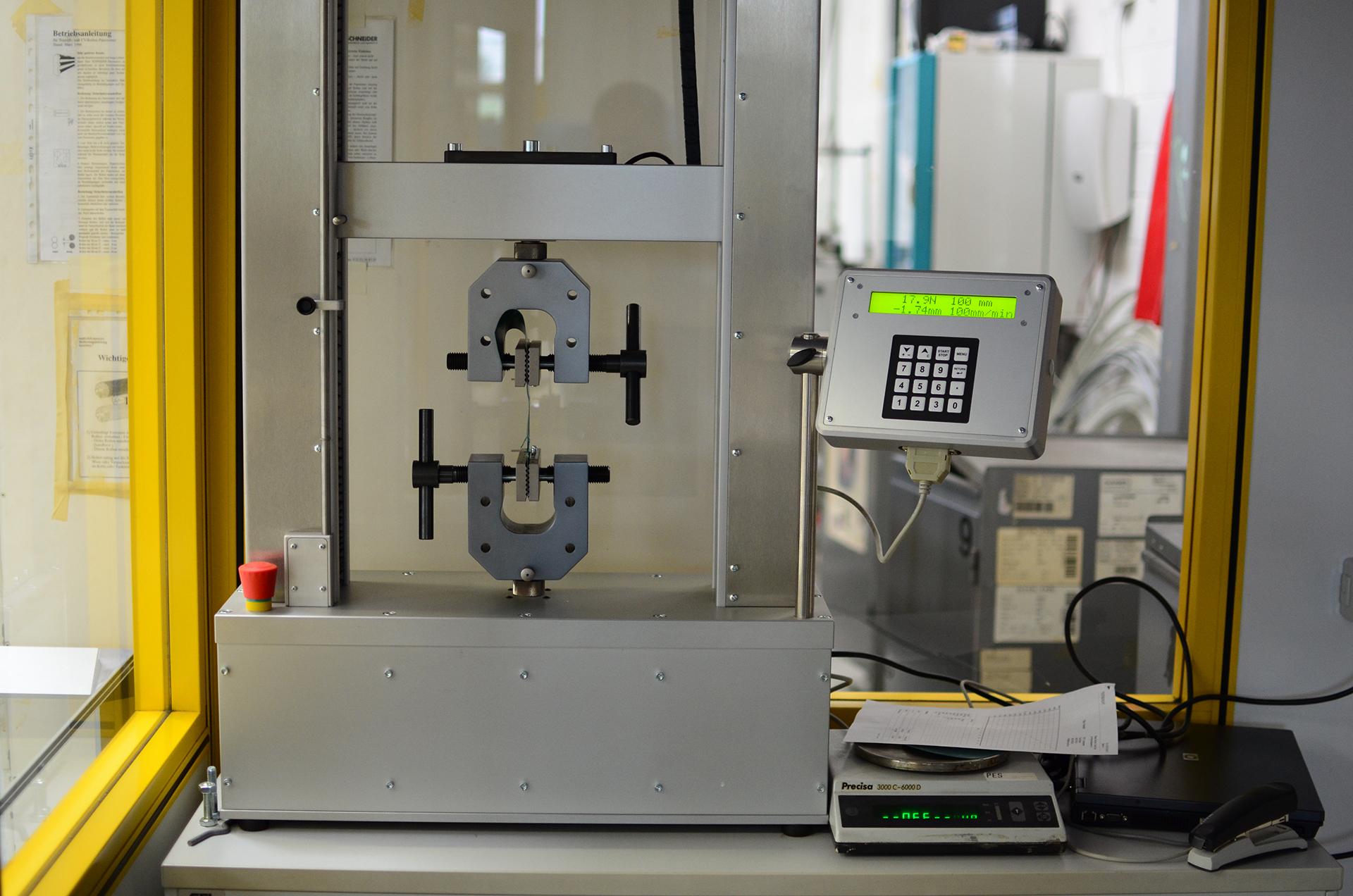 Maschinenpark der Planex GmbH