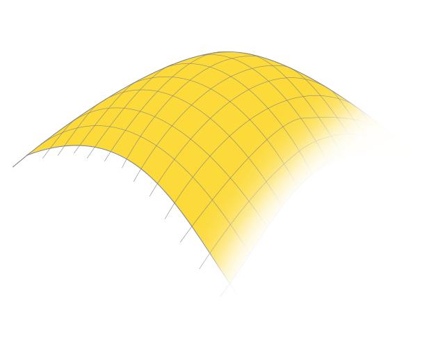 Hier sehen Sie eine Illustration einer Membran von Planex.
