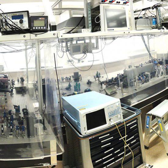 Reinraumvorhang von Planex Technik in Textil