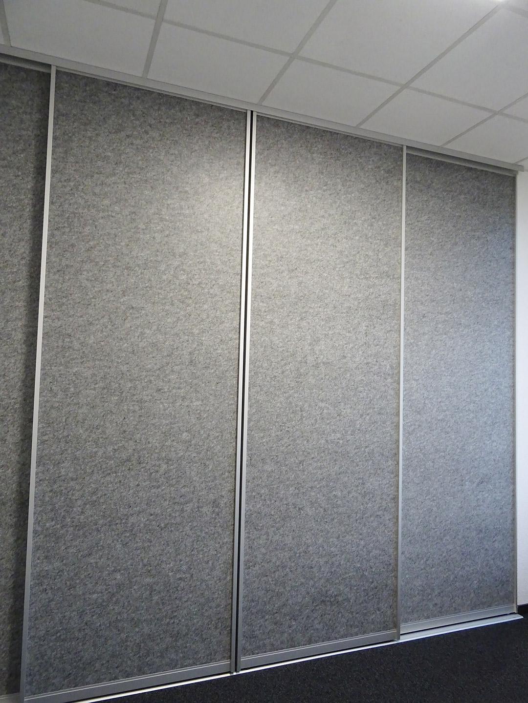 Trennwand-System aPerf von Planex Technik in Textil GmbH