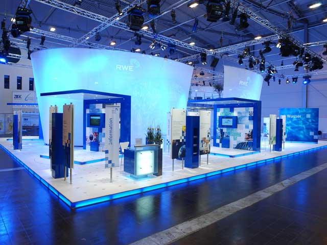 Raumteiler Messestand Planex GmbH