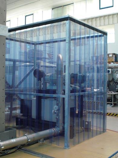 Streifenvorhang von Planex Technik in Textil GmbH