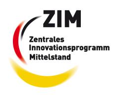 Logo Zenrales Innovationsprogramm Mittelstand (ZIM)