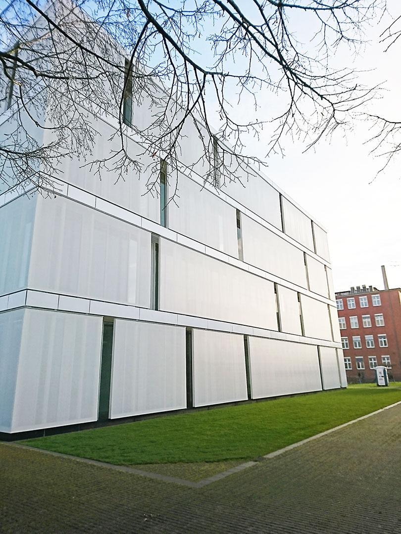 Sichtschutz für Gebäude von Planex