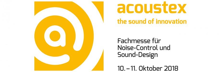 Planex auf der Fachmesse für Noise-Control und Sound-Design acoustex 2018
