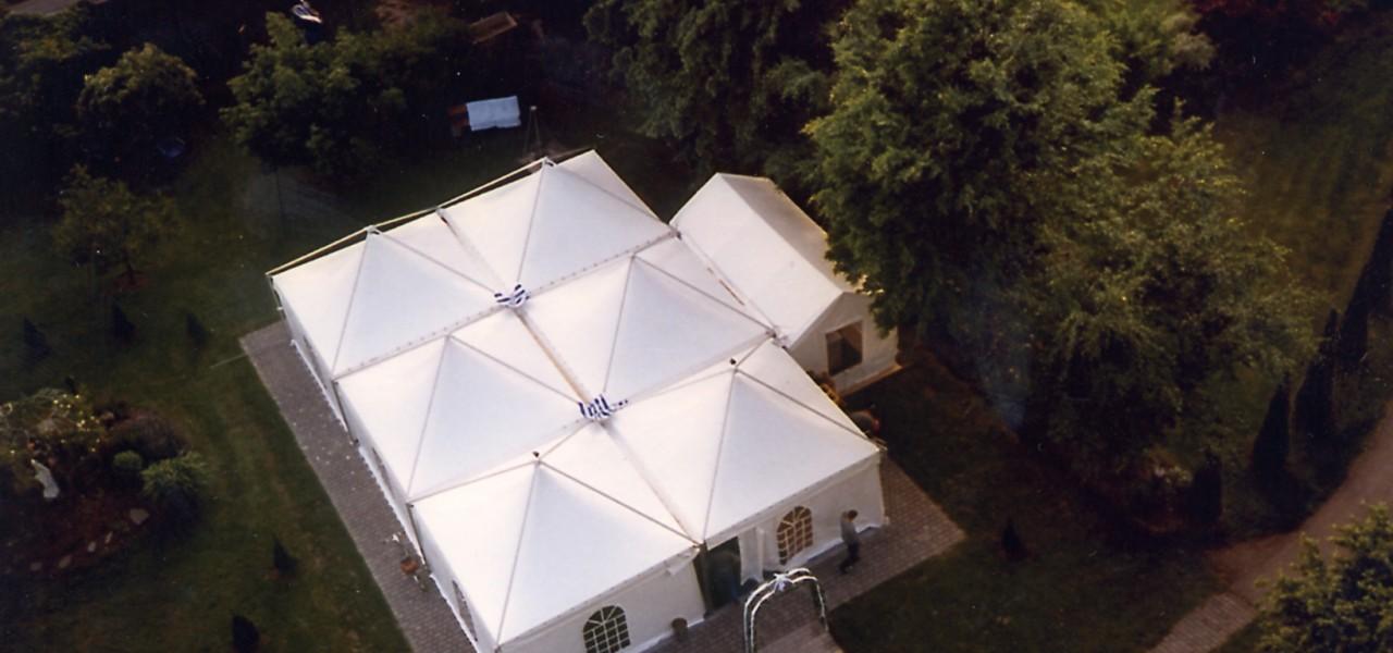 Baldachin-Pavillon von Planex Technik in Textil GmbH