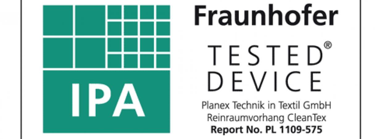Reinraumvorhang CleanTex erhält Zertifikat