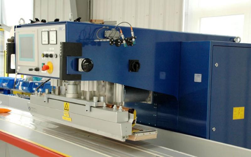HF-Schweissmaschine von Planex Technik in Textil GmbH