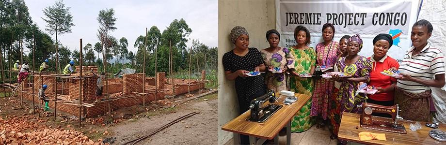 Planex spendet für den Bau eines Ausbildungszentrums im Kongo