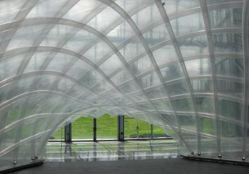 Luftgestützte Membrane