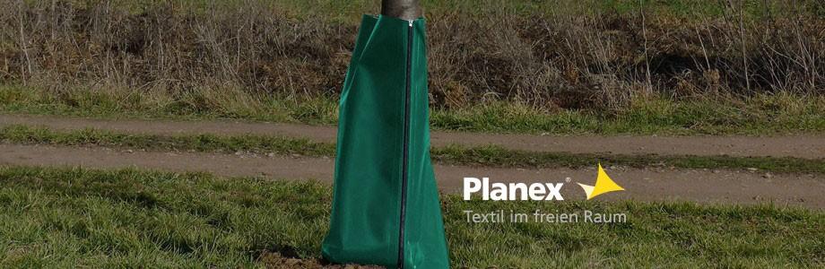Bäume und Sträucher effizient bewässern: Premium Bewässerungssäcke von Planex