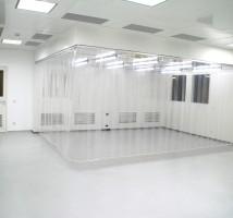 Reinraum-Streifenvorhänge von Planex Technik in Textil GmbH
