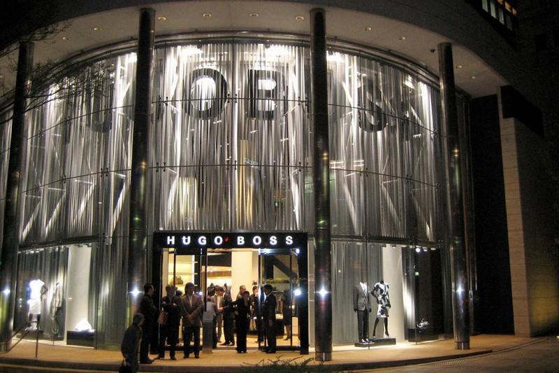 Sichtschutz für Kaufhäuser und Boutiquen