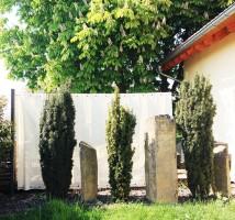 Sichtschutz im Garten oder im Aussenbereich