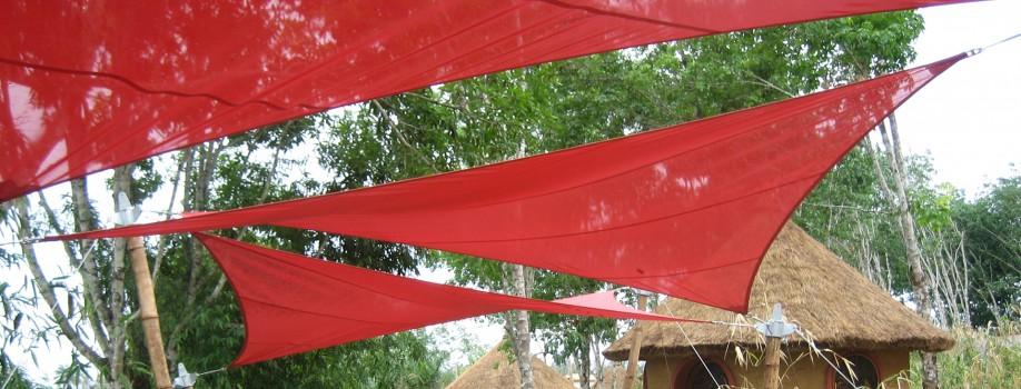Sonnensegel-Projekt in Nigeria