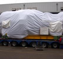 Transportschutzplane (Blachen) und Schutzhauben nach Maß für Fahrzeuge von Planex.