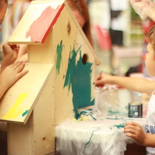 Symbolbild eines Kindergartens während der Corona-Pandemie