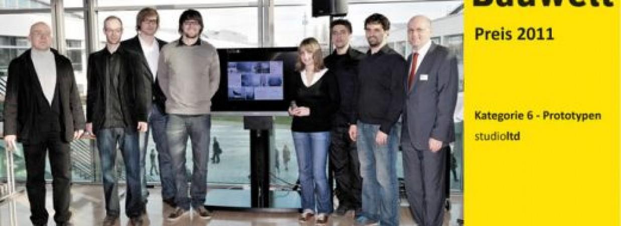Pneumatische Gitterschale erhält Bauwelt Preis 2011