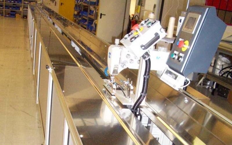 CNC-Nähanlage von Planex Technik in Textil GmbH