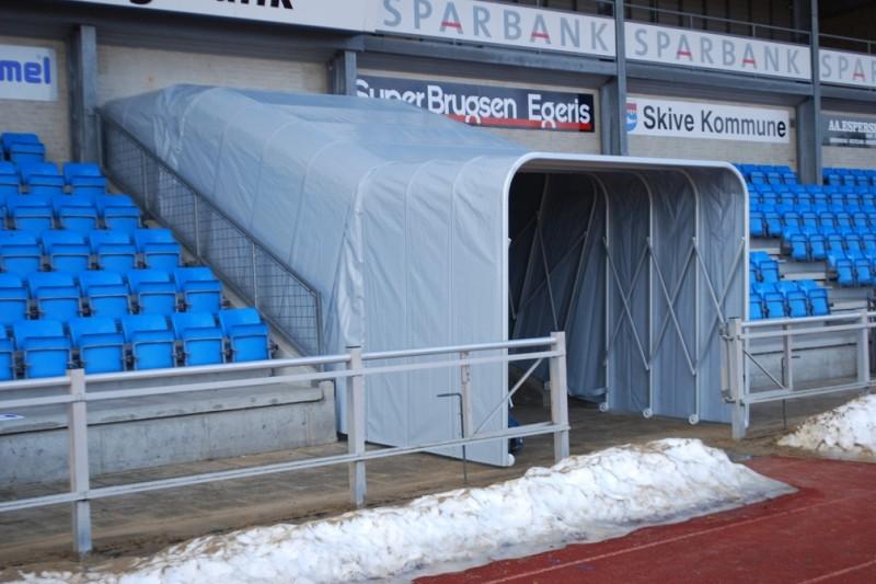 Tunnel von Planex Technik in Textil GmbH
